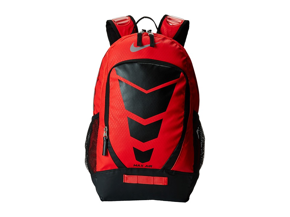 Nike - Max Air Vapor Backpack (Daring Red/Black/Metallic Silver) Day Pack Bags