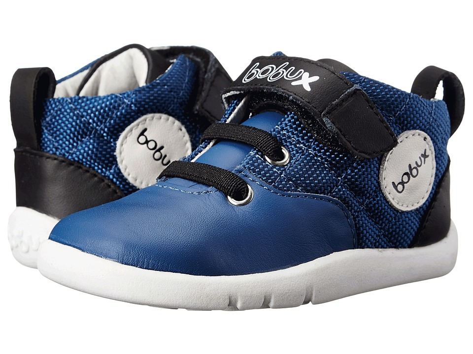 Bobux Kids - I-Walk Hiwire (Toddler) (Blue) Boy's Shoes