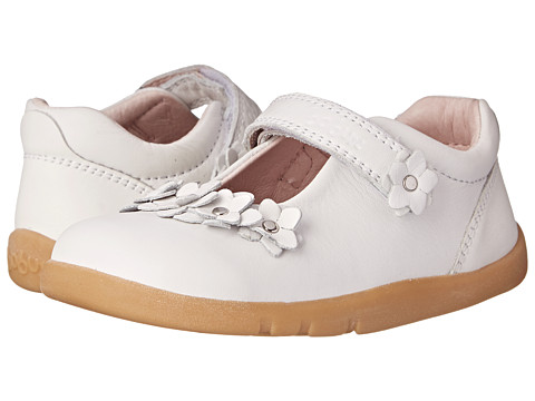 Bobux Kids - I-Walk Cherry Blossom Mary Jane (Toddler/Little Kid) (White) Girls Shoes