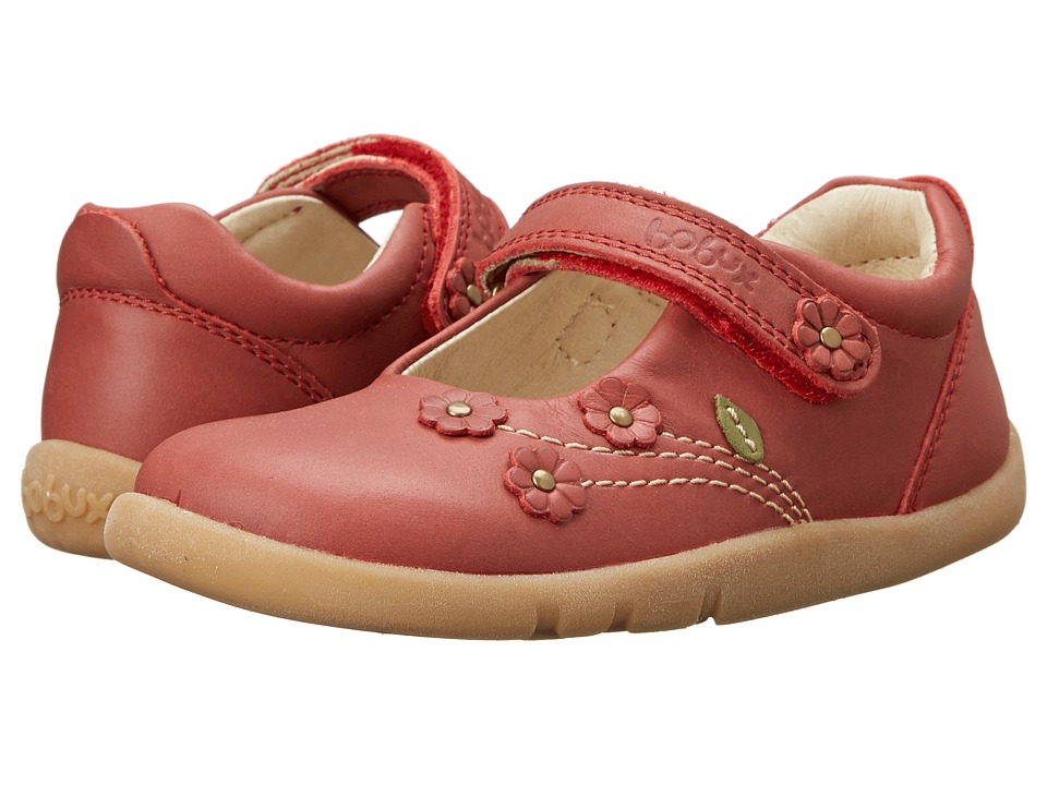 Bobux Kids - I-Walk Wild Flower Mary Jane (Toddler/Little Kid) (Red) Girls Shoes