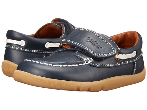 Bobux Kids - I-Walk Dock Side Dress Shoe (Toddler/Little Kid) (Navy) Boys Shoes