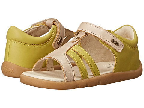 Bobux Kids - I-Walk Precious Metal Sandal (Toddler/Little Kid) (Yellow) Girls Shoes