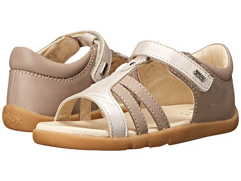 Bobux Kids - I-Walk Precious Metal Sandal (Toddler/Little Kid) (Taupe) Girls Shoes