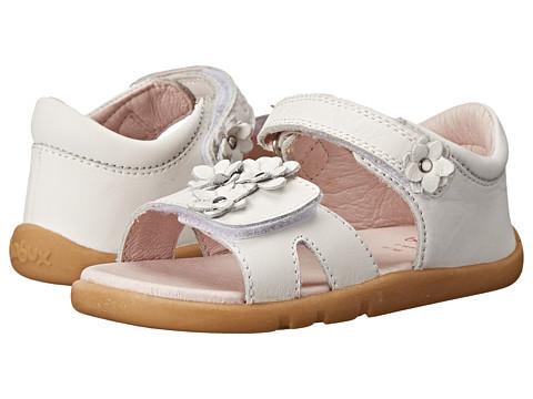 Bobux Kids - I-Walk Dainty Dreamer Sandal (Toddler/Little Kid) (White) Girls Shoes