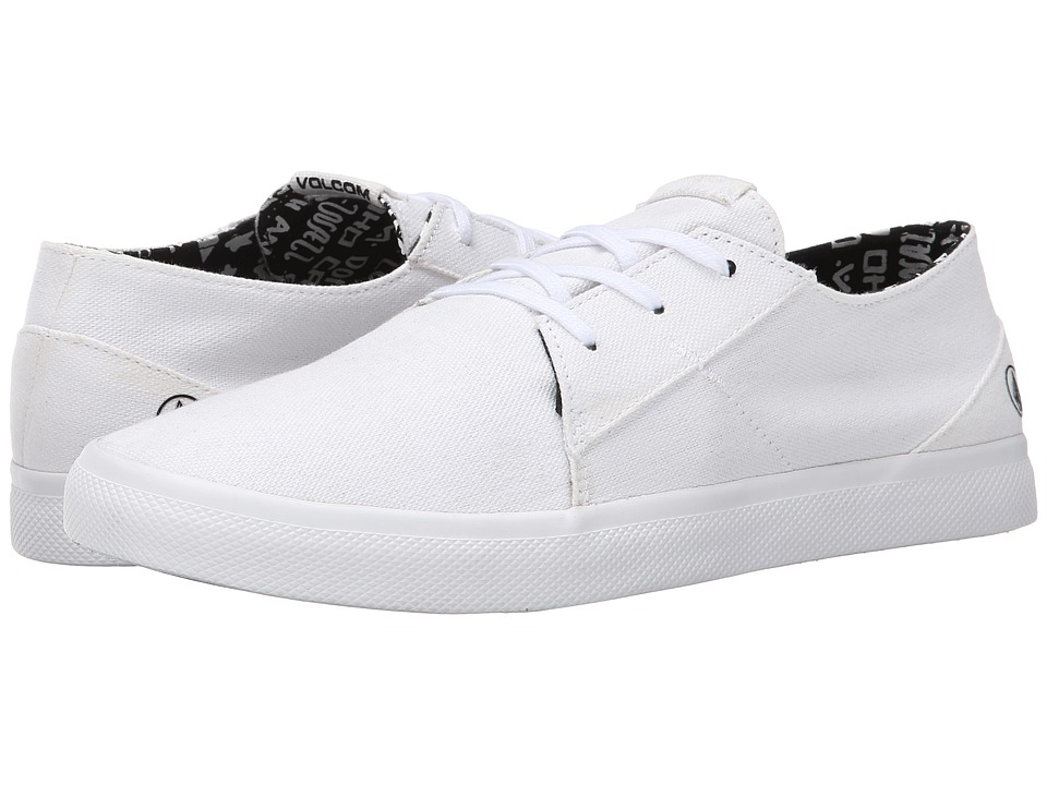 Volcom - Lo Fi (White) Women's Lace up casual Shoes