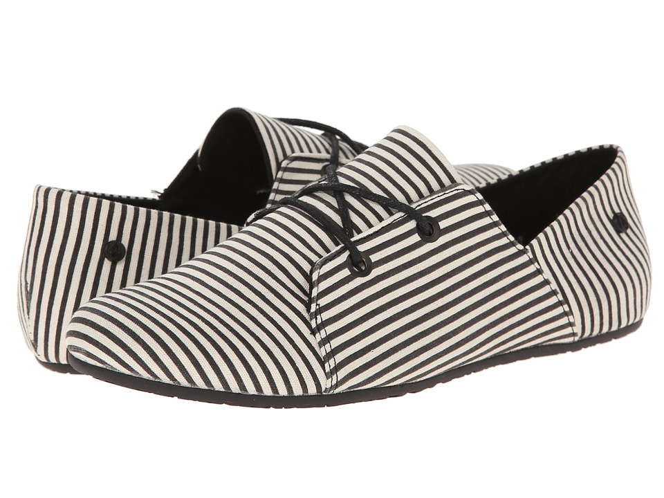 Volcom - Soul Mates 2 (Black Stripe) Women's Lace up casual Shoes