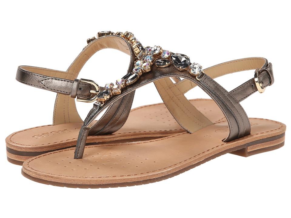 Geox - D Jolanda 15 (Taupe) Women's Shoes