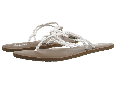 Volcom - Party (White) Women's Sandals