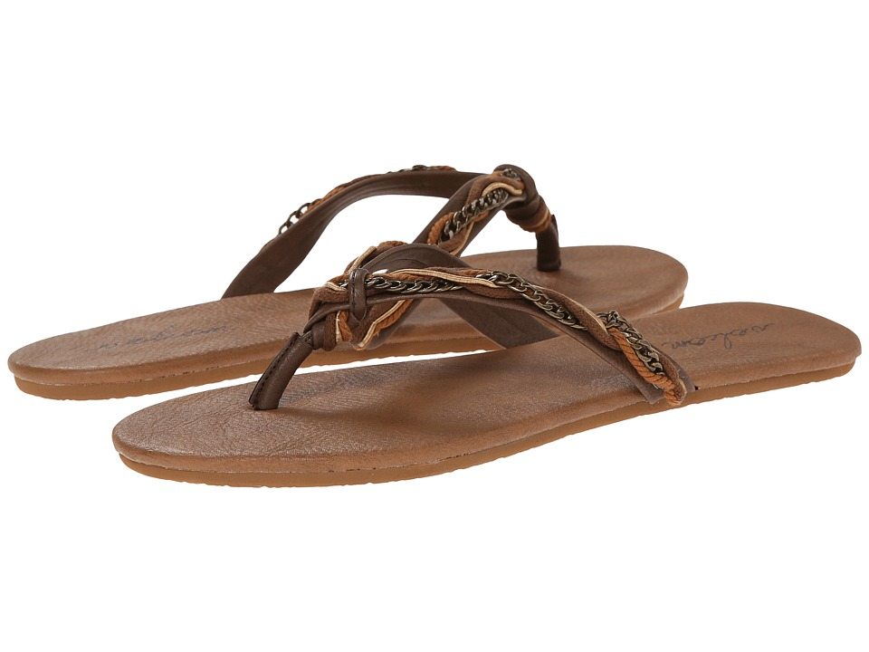 Volcom - Beach Party 2 (Brown) Women's Sandals