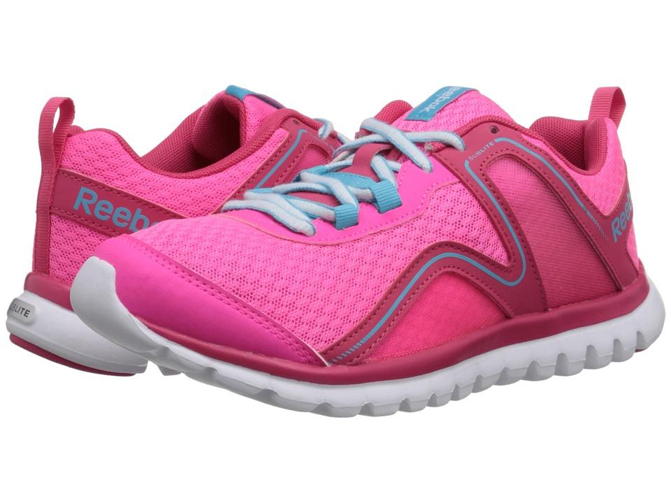 Reebok - Sublite Escape 2.0 MT (Solar Pink/Blazing Pink/Neon Blue/White) Women's Running Shoes