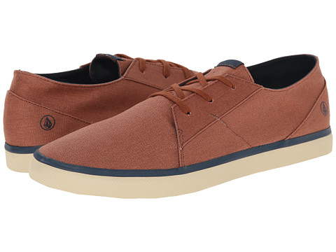 Volcom - Lo Fi 2 (Rust) Men's Lace up casual Shoes