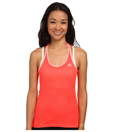 adidas - Supernova Mesh Tank (Flash Red/Light Flash Red) Women