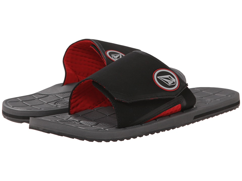 Volcom Stryker Slide (Charcoal) Men