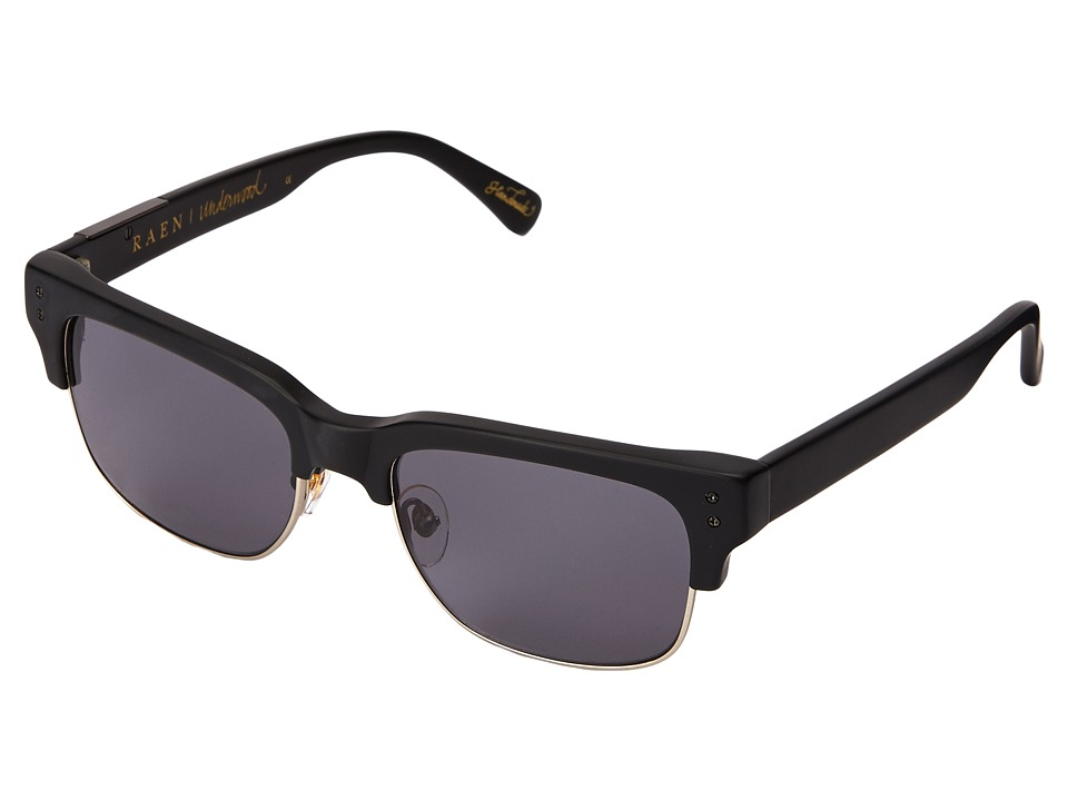 RAEN Optics - Underwood (Matte Black) Fashion Sunglasses