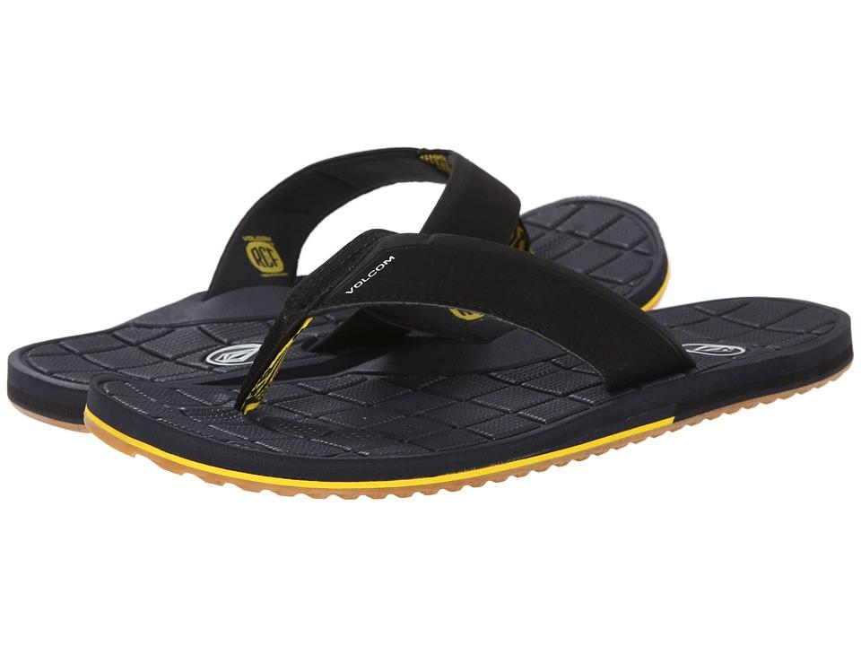 Volcom - Stryker (Dark Navy) Men's Sandals