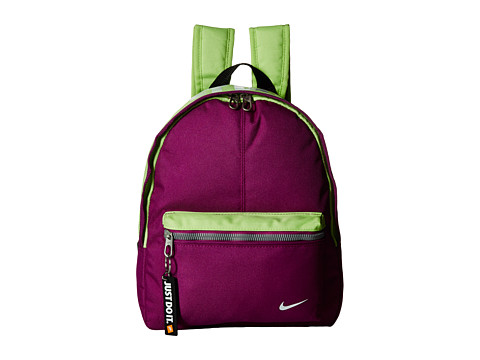Nike - Young Athletes Classic Base Backpack (Bold Berry/Key Lime/White) Backpack Bags