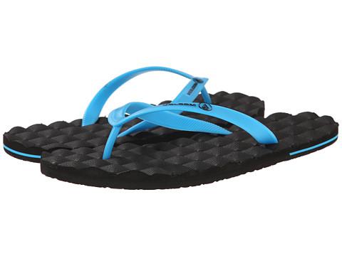 Volcom - Recliner Rubber (Cyan) Men's Sandals