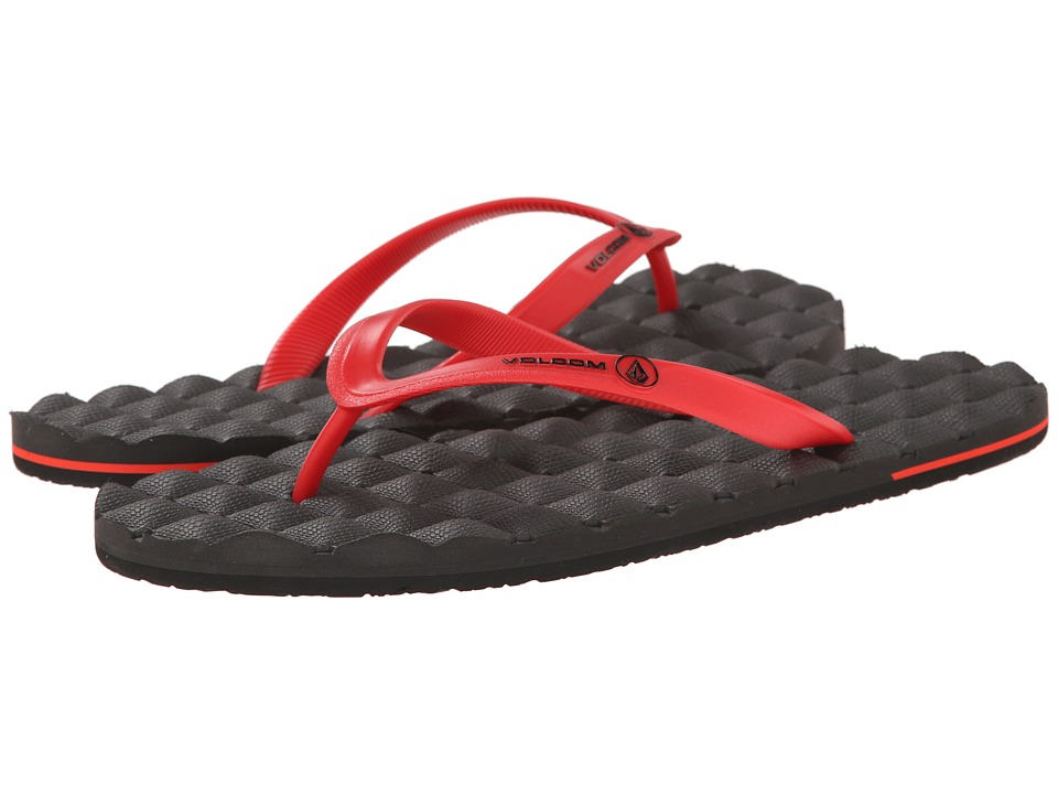 Volcom - Recliner Rubber (Red) Men's Sandals