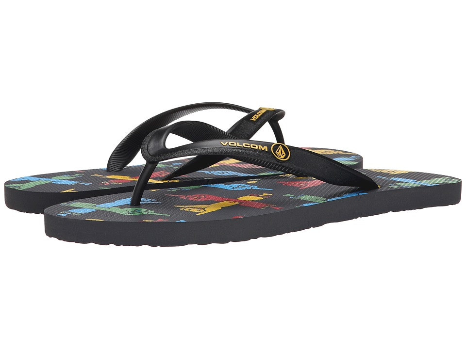 Volcom - Rocker (Asphalt Black) Men's Sandals
