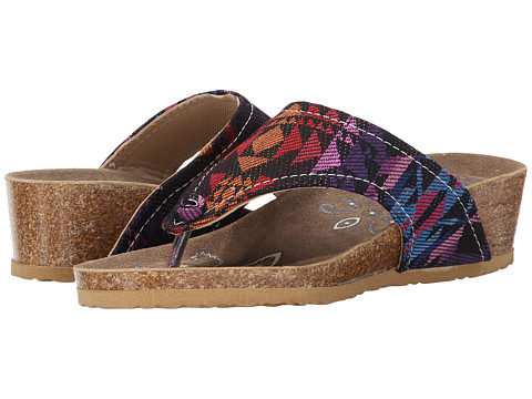 MUK LUKS - Olivia Terra Turf Wedge (Multi) Women's Wedge Shoes