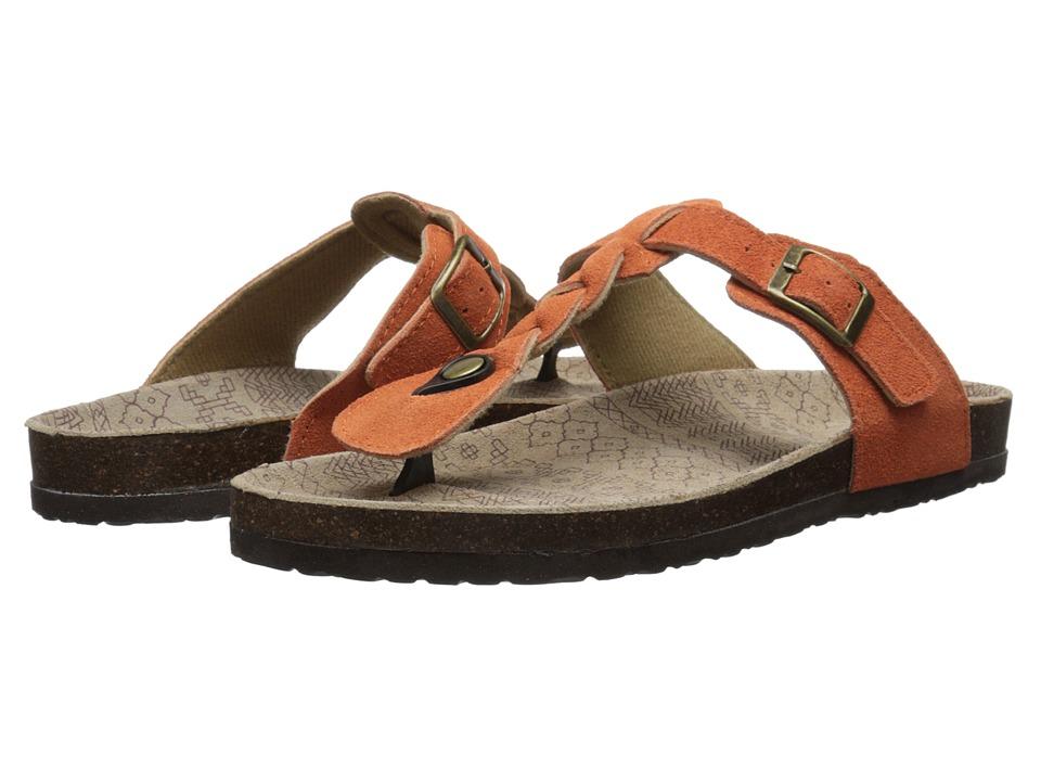 MUK LUKS - Marie Terra Turf Sandal (Orange) Women's Sandals