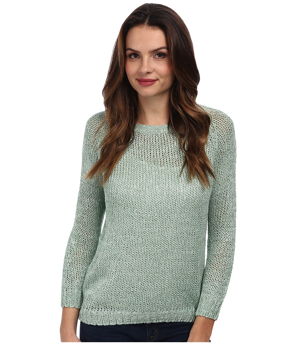 Brigitte Bailey - Ribbon Tie Back Sweater (Light Green) Women