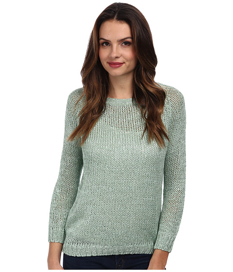 Brigitte Bailey - Ribbon Tie Back Sweater (Light Green) Women's Sweater