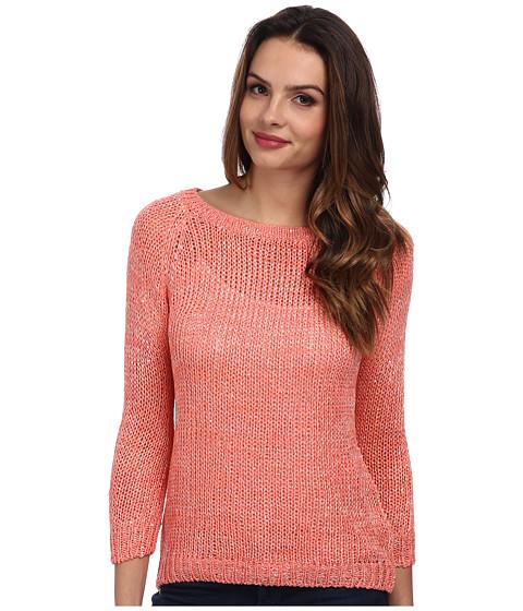 Brigitte Bailey - Ribbon Tie Back Sweater (Orange) Women