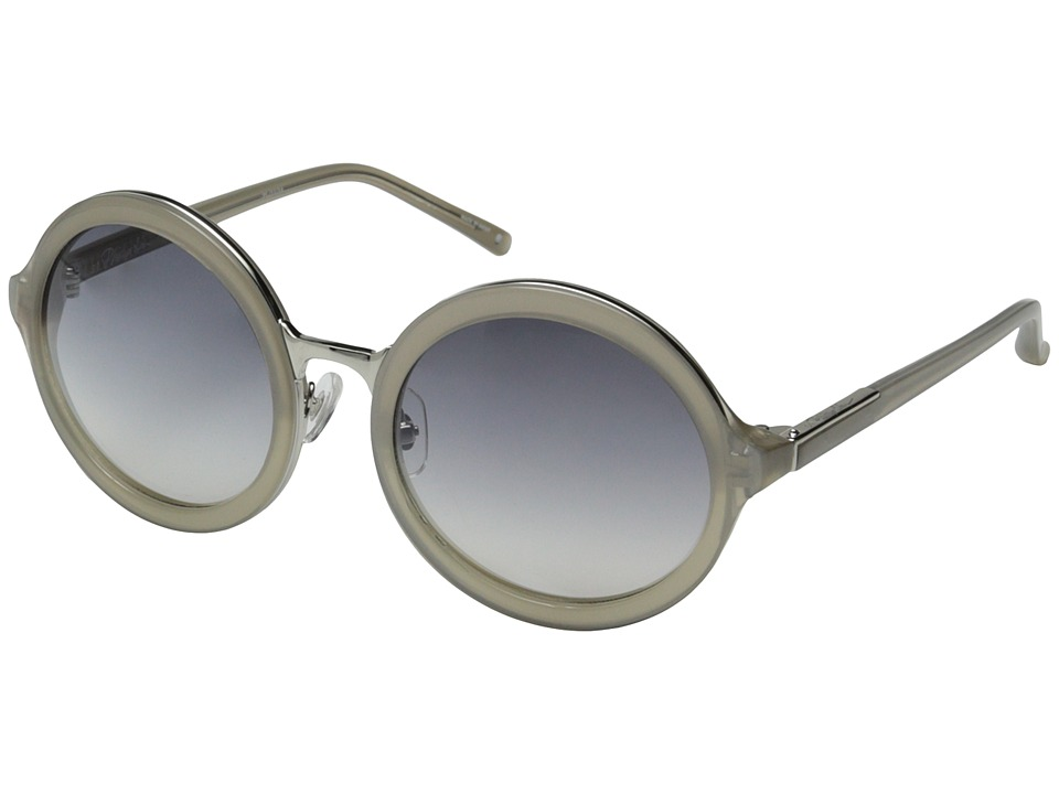 3.1 Phillip Lim - PL11C14SUN (Clear/Grey/Revo Lens) Fashion Sunglasses