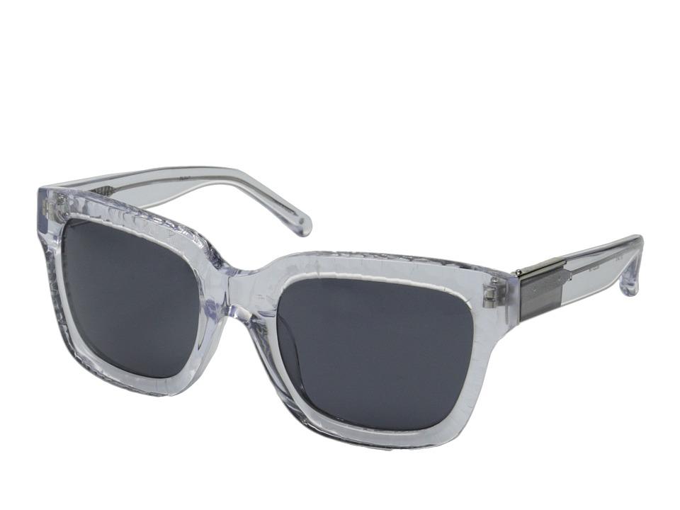 3.1 Phillip Lim - PL51C7SUN (Clear/Green) Fashion Sunglasses