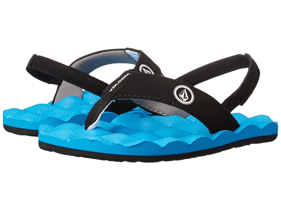 Volcom Kids - Recliner (Toddler/Little Kid) (Marina Blue) Boys Shoes