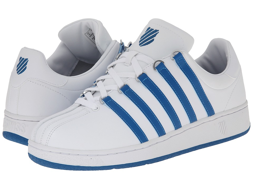 K-Swiss - Classic VN (White/Mykonos Blue) Men's Shoes