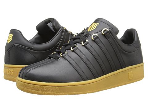 K-Swiss - Classic VN (Black/Gum) Men's Shoes