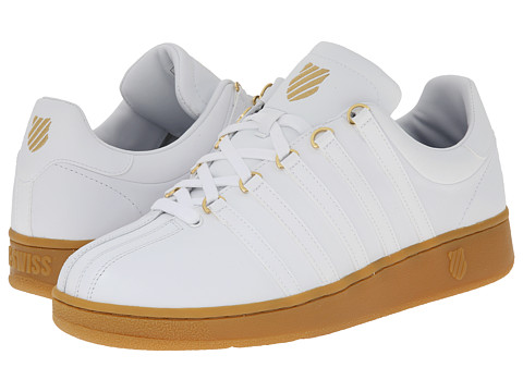 K-Swiss - Classic VN (White/Gum) Men's Shoes
