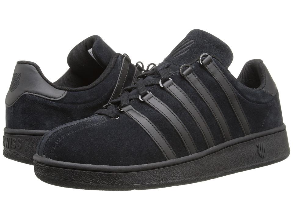 K-Swiss - Classic VN SDE (Black/Black) Men's Classic Shoes