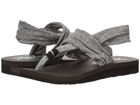 SKECHERS - Meditation (Grey) Women's Sandals