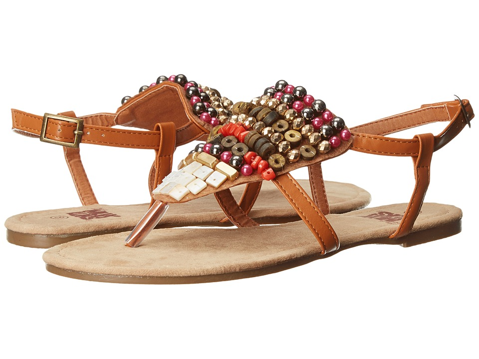 MUK LUKS - Harlow Beaded Sandal (Camel) Women's Sandals