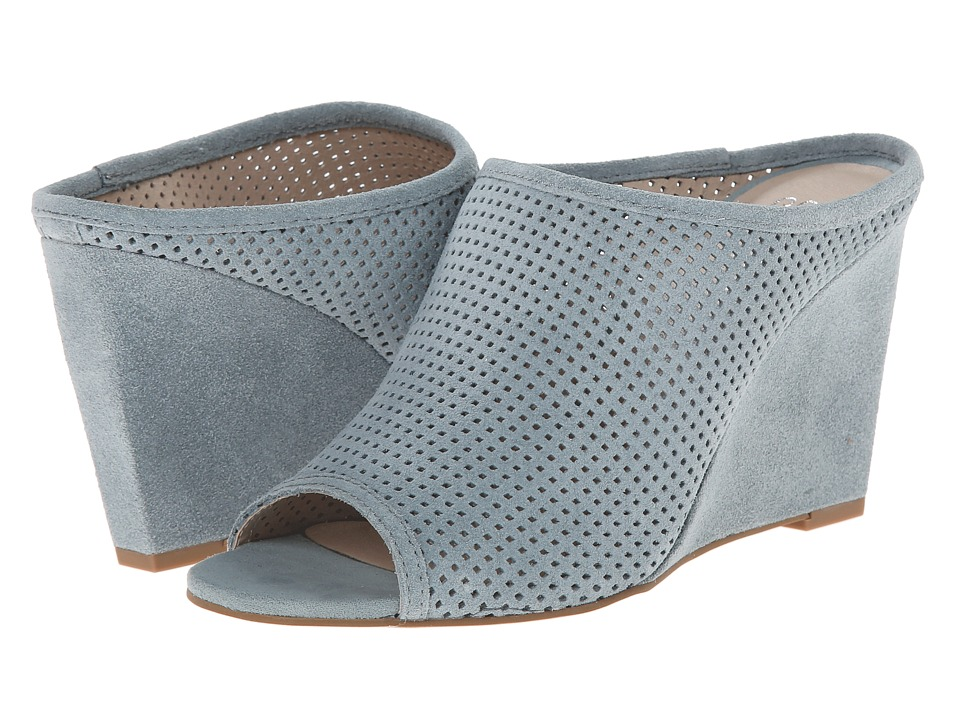Seychelles - Perfect Match (Light Blue Suede) Women's Wedge Shoes