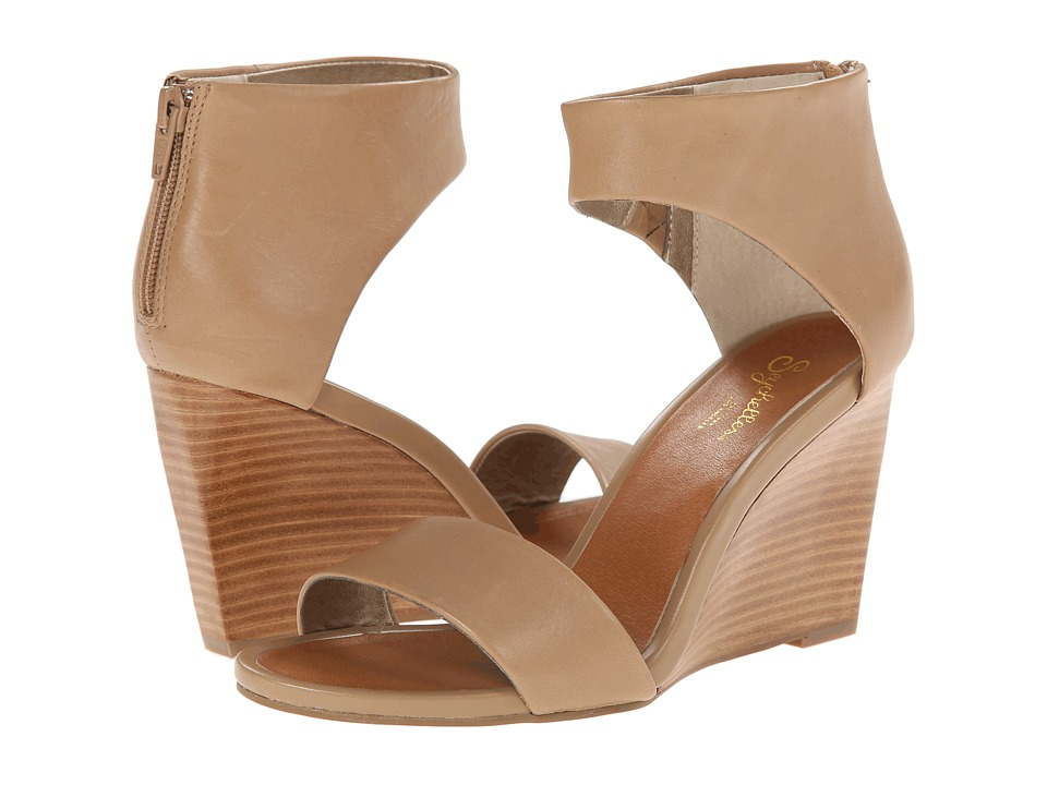 Seychelles - Auburn (Taupe) Women's Wedge Shoes