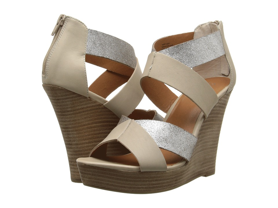 Seychelles - Strawberry Blonde (Silver/Taupe) Women's Wedge Shoes