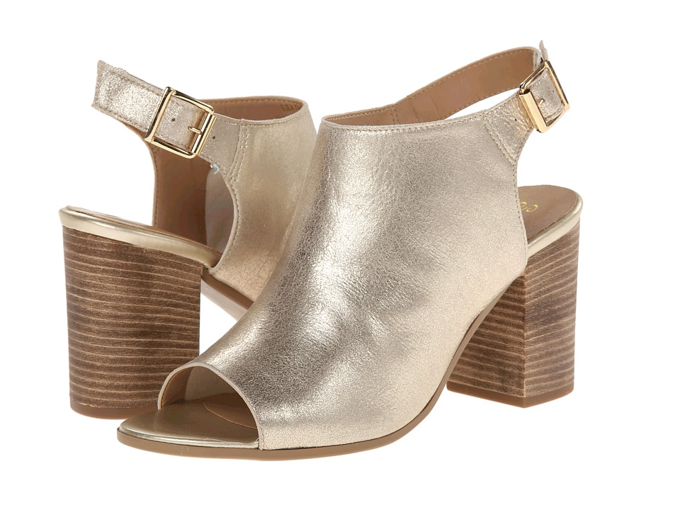 Seychelles Follow (Gold Metallic) High Heels
