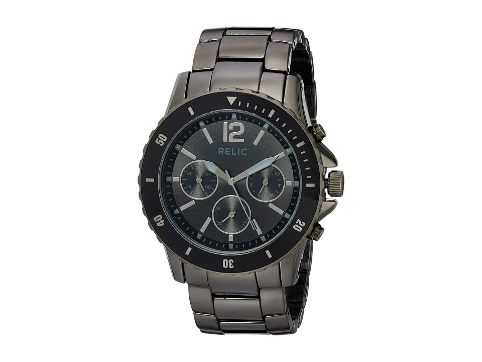 Relic - Jaxton (Gun/Black) Watches