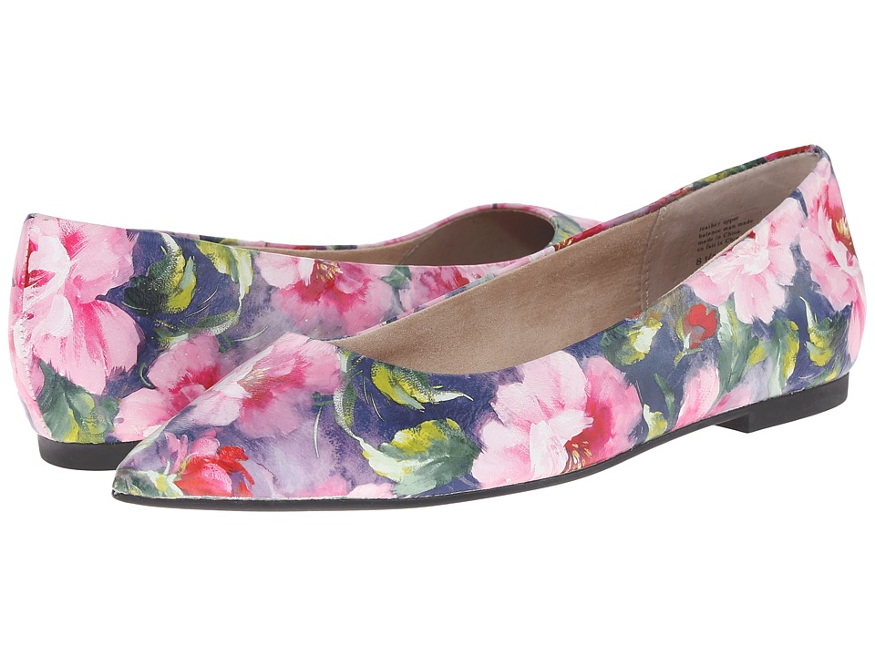 Seychelles - Well Known (Fuchsia Floral) Women's Flat Shoes