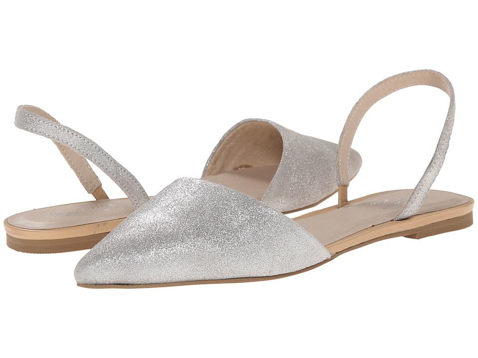 Seychelles - Haunt (Silver Metallic Suede) Women's Slide Shoes