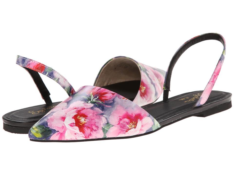 Seychelles - Haunt (Fuchsia Floral) Women's Slide Shoes