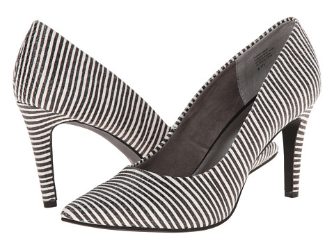 Seychelles - Frequency (Black/White Stripe) Women's Shoes