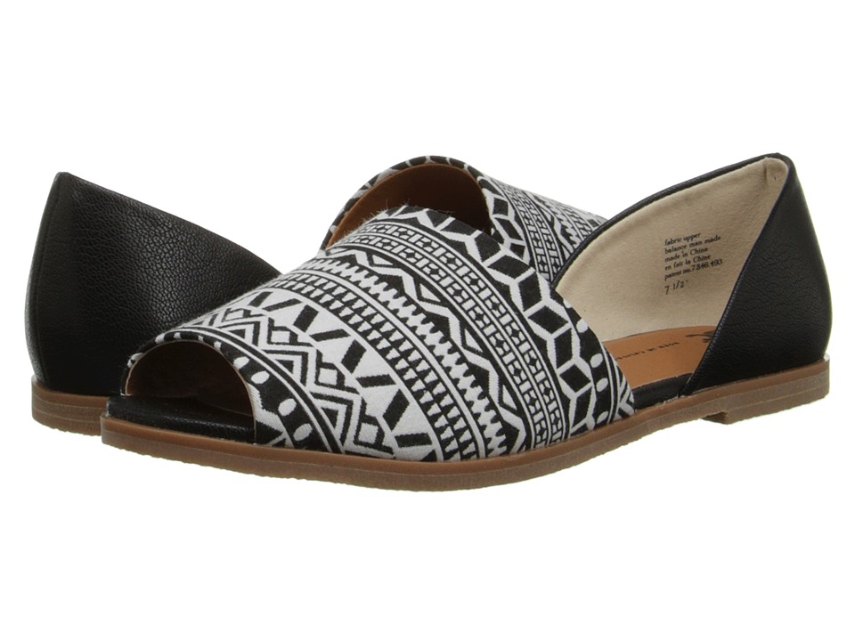 BC Footwear - Bobtail (Black/White & Black) Women's Sandals