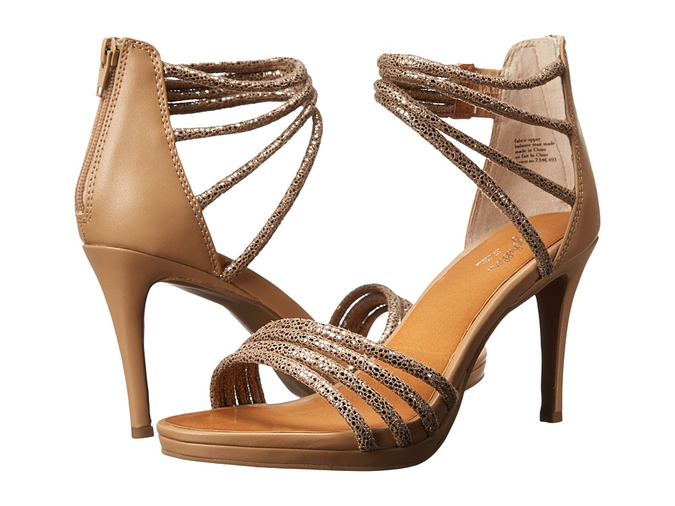 Seychelles Dreamgirl (Pewter/Vacchetta Exotic) High Heels