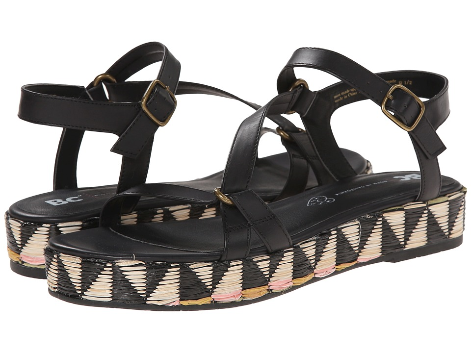 BC Footwear - Tuxedo (Black) Women's Sandals