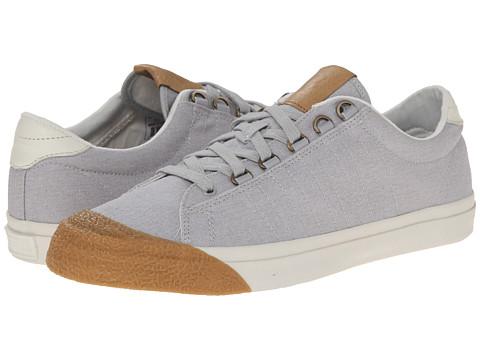 K-Swiss - Irvine T (Gull Gray/Marshmallow/Dark Gum) Men's Tennis Shoes